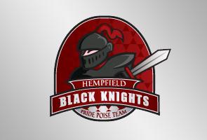 Black Knights Logo Design Black Knights